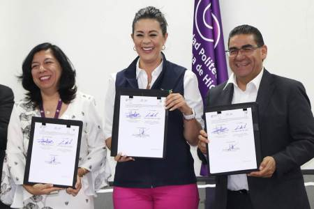 STPSH une esfuerzos con Universidad Politécnica Metropolitana de Hidalgo y el Colegio de Arquitectos del Estado de Hidalgo