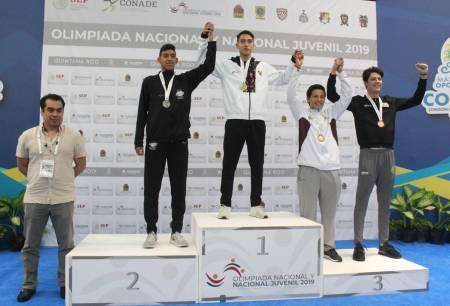 Taekwondoínes se despiden de Olimpiada y Nacional Juvenil con oro de Uriel Gomeztagle1