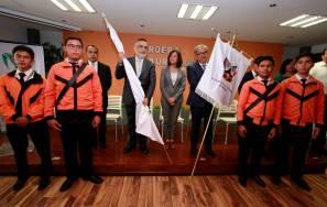 Titular de SEPH abandera delegación de estudiantes rumbo a la OMI 2019-2