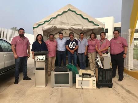 """UTHH sede de la campaña """"Hidalgo Recicla Contigo"""""""