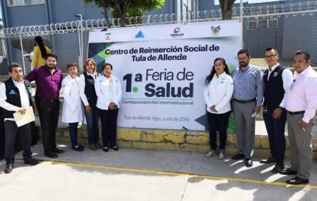 Celebran Feria de Salud en Cereso de Tula1