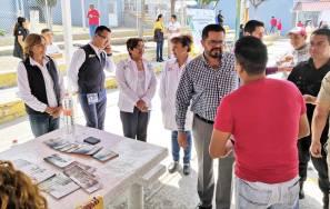 Celebran Feria de Salud en Cereso de Tula3