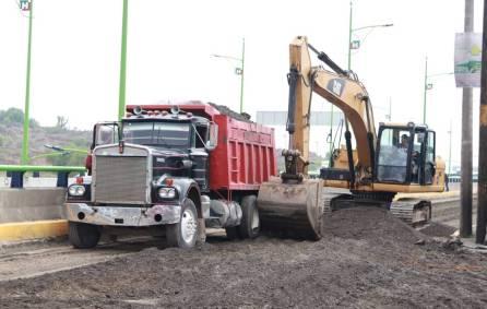Comienzan trabajos de modernización en lateral de la Supervía Colosio1