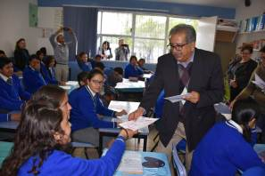 Encabeza SEPH arranque de aplicación de la Prueba PLANEA Secundaria 2019