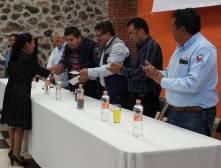 Entrega de cheques por Seguro Catastrófico en Tolcayuca4