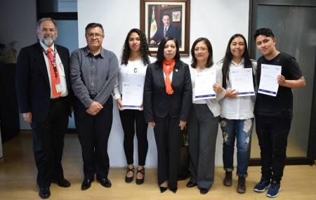 Estudiantes de UPMH obtuvieron tercer lugar en la Universidad La Salle