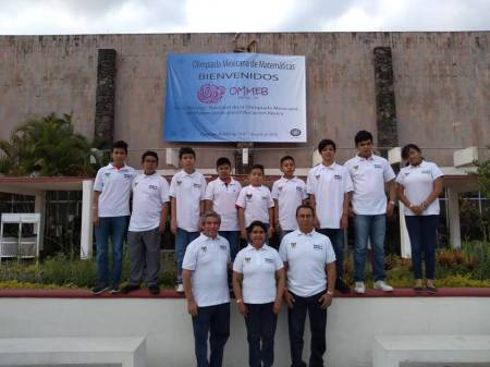 Exitosa participación de Hidalgo en la Olimpiada Mexicana de Matemáticas en Morelos