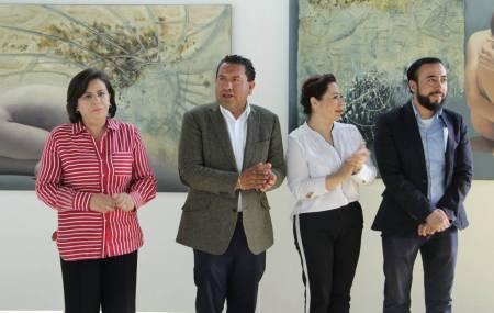 """Exponen en la Garibay """"Reflexiones, Hermenéutica de la luz""""1"""