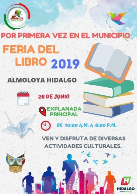 Feria del libro en Almoloya 2019