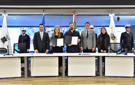 Firman IDLO y SSPH convenio para profesionalizar a policías estatales y municipales2
