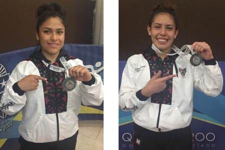 Gladiadoras suman dos medallas más para Hidalgo