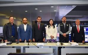 Gobiernos del Edoméx, CDMX e Hidalgo coordinan esfuerzos para la Agenda Metropolitana del Valle de México en materia de seguridad pública1