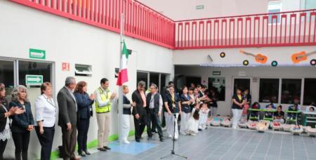 Guarderías del IMSS en Hidalgo participan en simulacro para su seguridad