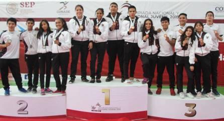 Hidalgo logró 60 medallas en Olimpiada Nacional y Nacional Juvenil 2019-4