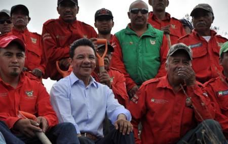 Hidalgo Siembra Contigo al rescate de las áreas afectadas por incendios forestales 2