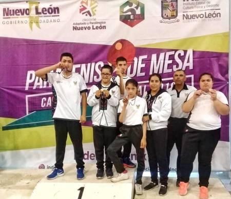 Hidalguenses participaron en el Campeonato Nacional de Paratenis de mesa .jpg