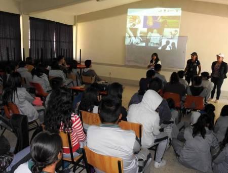 """Imparten conferencia """"Decisiones Prevención del Suicidio"""" a alumnos de COBAEH en Tolcayuca2"""