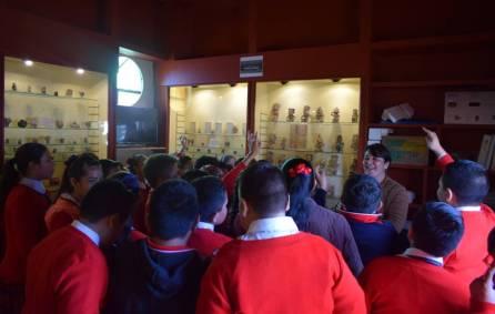 Implementan estrategias audiovisuales en visitas guiadas en el Museo de Zazacuala 4