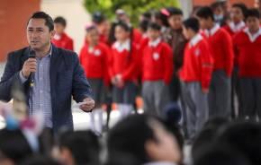 Inaugura Raúl Camacho Espacio de Alimentación en escuela de La Calera 1