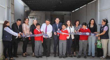 Inaugura Raúl Camacho Espacio de Alimentación en escuela de La Calera 3