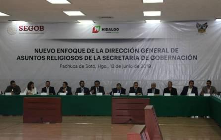 Instancias de asuntos religiosos acuerdan estrategia para fortalecer el tejido social en Hidalgo1