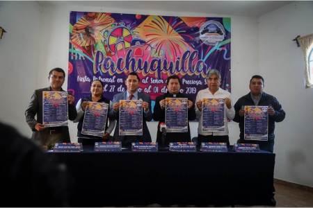 Invitan Raúl Camacho y Parroquia a la fiesta patronal de Pachuquilla 2019 del 27 de junio al 1 de julio, en honor al Señor de la Preciosa Sangre