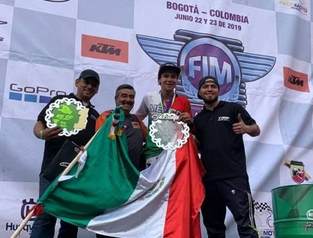 Logra Francisco Daniel Fragoso segundo lugar en Campeonato Latinoamericano de Motocross 85cc