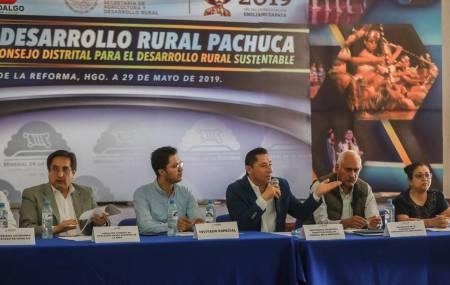 Mineral de la Reforma sede de la Reunión Ordinaria de Consejo Distrital para el Desarrollo Rural Sustentable1