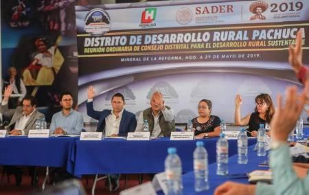 Mineral de la Reforma sede de la Reunión Ordinaria de Consejo Distrital para el Desarrollo Rural Sustentable2