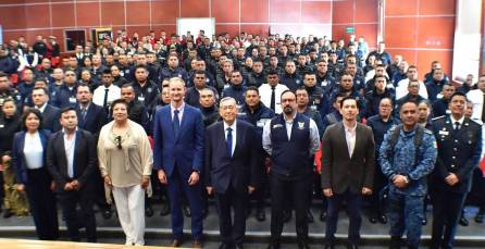 Organismo internacional y SSPH capacitarán a 700 policías hidalguenses6