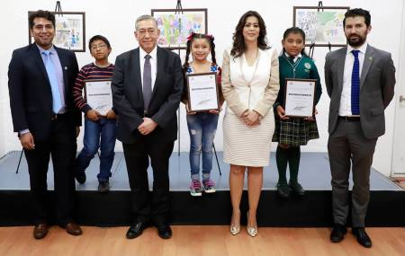 """Participan menores de edad en concurso de dibujo """"Por una niñez libre de Trabajo Infantil 2019""""1"""