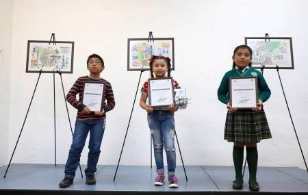 """Participan menores de edad en concurso de dibujo """"Por una niñez libre de Trabajo Infantil 2019""""2"""