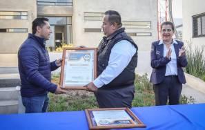 Raúl Camacho reconoce labor de policías municipales3