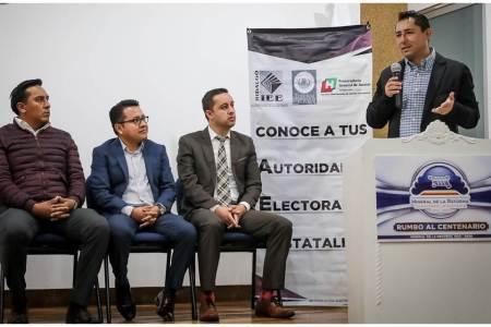 """Reciben capacitación """"Conoce a tus Autoridades Electorales"""", ayuntamientos de Mineral de la Reforma y Epazoyucan2.jpg"""