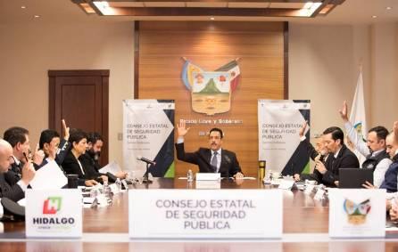 Reconocen a Hidalgo como un estado comprometido con la seguridad de su gente1