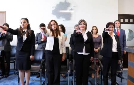 Rindieron protesta cuatro nuevas juezas del fuero común1