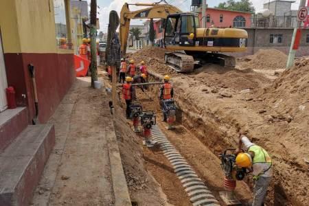 SOPOT comienza trabajos de Construcción de Colector Pluvial en la carretera México-Pachuca4