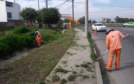 SOPOT realiza trabajos de limpieza El Chacón
