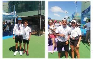 Tenistas se despiden con cuatro medallas de la Olimpiada Nacional1