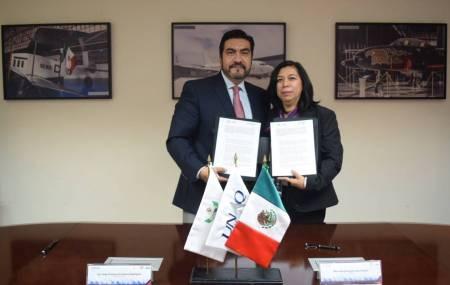 UPMH y UNAQ realizan firma de convenio de colaboración1