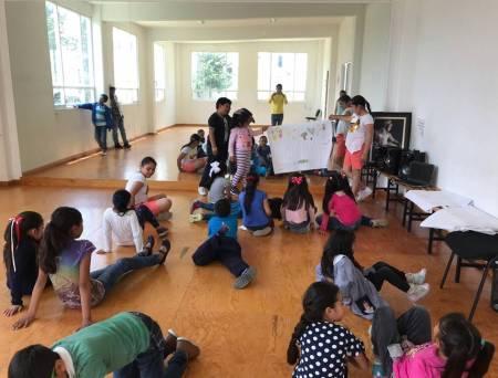 """30 niñas y niños disfrutan del curso """"Mis Vacaciones en la Biblioteca"""" en Tolcayuca1"""