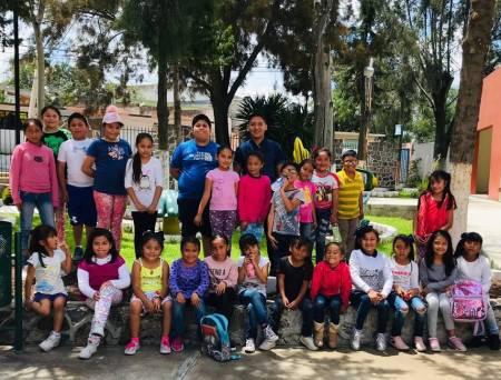 """30 niñas y niños disfrutan del curso """"Mis Vacaciones en la Biblioteca"""" en Tolcayuca2"""