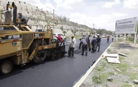 Abre parcialmente SOPOT cuerpo vial en el bulevar Nuevo Hidalgo 1