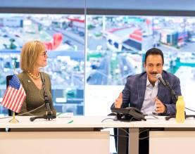 Atestigua Omar Fayad firma de carta de intención entre Gobierno de Hidalgo 5