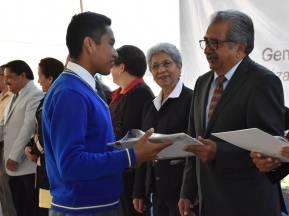 Atilano Rodríguez clausura curso escolar 2018-2019 en secundaria de Francisco I Madero4