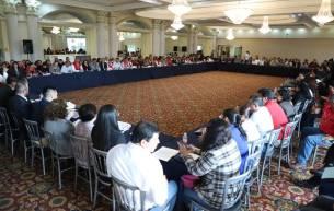 Con diálogo constructivo y resolutivo, sostienen reunión autoridades de la SSH e integrantes del SNTSA sección 20-5