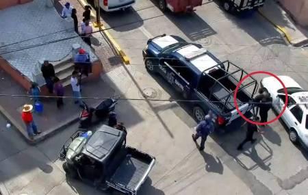 Con operativo de C5i y Policía de Tula frustran robo a cadena comercial2