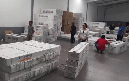 Concluye la segunda entrega de calentadores solares en Tolcayuca4