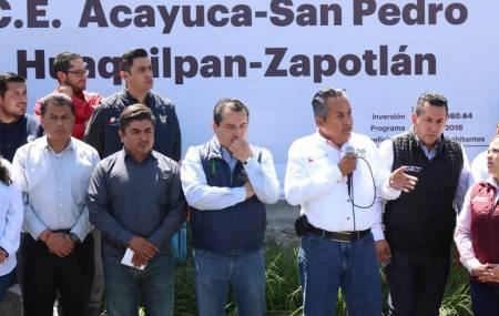 Da SOPOT banderazo de inicio a conservación de carretera en Zapotlán1