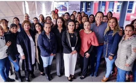 El PRI construye políticas públicas con perspectiva de género, Erika Rodríguez